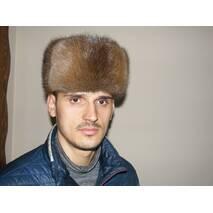 1. Мужская меховая шапка (натуральный)
