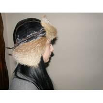 3. Женская меховая шапка (натуральная лисица)