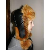 1. Женская меховая шапка (тонированая лисица)