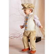 Модный костюм для мальчика до 1 года, арт. A012  (Krasnal, Польша)