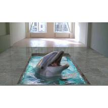 """3d-підлога """"Дельфін"""""""