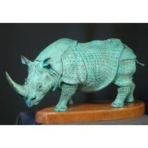 "Бронзовая статуэтка ""Носорог"""