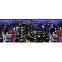 """3D-интерьерная панорама """"Ночной Мегаполис"""""""