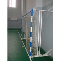 Ворота мини-футбольные, гандбольные 3000х2000 (разборные), шарнирно-складывающиеся к стенке, на колесиках
