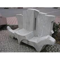 """Монументальная скульптура, """"скамейка"""""""