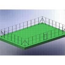 Комплект стоек ограждения для площадки