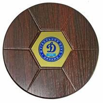 Диплом на дерев'яній плакеці. Динамо
