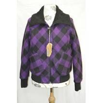 Стильная клетчатая куртка (демисезон)