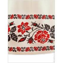Комплект свадебных нарядов с яркими розами