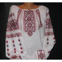 жіноча вишиванка з манжетом