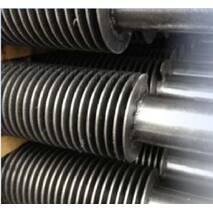Биметаллические трубы с поперечной навивкой алюминиевой или медной ленты