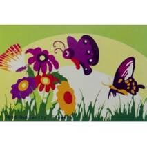 Мольбертики з акриловими фарбами Квіти