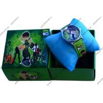 Справжній годинник з улюбленим героєм мультфільму Бен 10