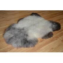 Овечья шкура - овечьи шкуры - шкура овцы (пепельного цвета)