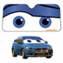 Солнцезащитная шторка EX Глаза с блеском (синий) BAS-19