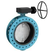 Двохфланцевий дисковий поворотний затвор тип F 012-А
