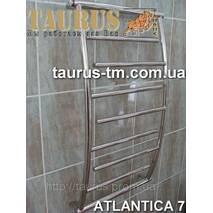 Зручний полотенцесушитель Atlantica 7/ 500 з нержавіючої сталі до ванної кімнати