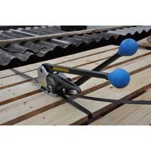 Пристрій для обв'язування вантажів металевою стрічкою М4К-10