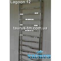 Полотенцесушитель Lagoon 12 для ванної кімнати / 500 мм.