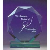 Нагорода зі скла з нанесенням арт. PG004