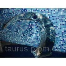 Водопад из полированной нержавеющей стали Cobra (Кобра), плечевой массажер от производителя TAURUS