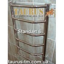 Полотенцесушилка для ванної кімнати Standart  6/ 650 х 500 мм.
