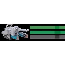 Пневматическая машинка для упаковки полипропиленовой и полиэстеровой лентами ITA 14