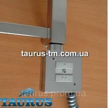 Квадратний ТЭН KTX1 з управлінням на кнопках 2 режими, хром (Польща). Знімний регулятор. Потужність до 1000Вт.