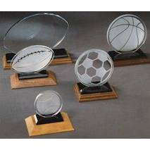Скляні призи на футбольну тематику арт. PG025