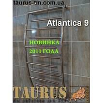 Крассивый полотенцесушитель Atlantica 9/ 500 з нержавіючої сталі до ванної кімнати