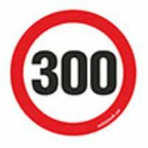 Наклейка на авто Znaki 300