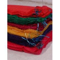 Сетка-мешок 40х60 зеленая, красная, фиолетовая Китай