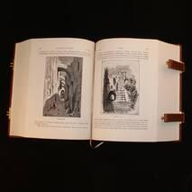 """Книга ручної роботи """"Свята земля і Біблія. Опис Палестини і звичаїв її мешканців"""""""