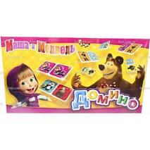 Домино детское Маша и Медведь