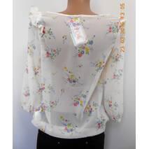 Блуза шифоновая светлая