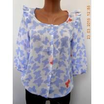 Блуза женская с бабочками