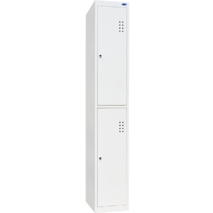 Шкаф одежный на две ячейки в высоту ШОМ-300/1-2