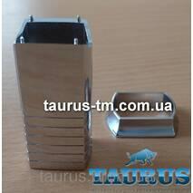 Маскувальний елемент для приховання кабелю (дроти) від електричного Тэна, хром