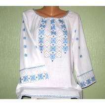 жіноча вишиванка з мереживом