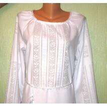 платье свадебное вышитое ручной работы