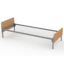 Ліжко односпальне з сіткою