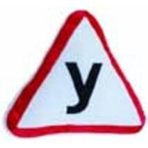 Іграшка в авто Тигрес Подушка- 10 (Дорожній знак У) ПШ- 0010
