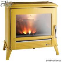 Чавунна піч INVICTA MODENA жовта емаль - 12 кВт