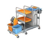 Гостинничные  візка і візка для прибирання. Avial Візок для прибирання приміщень  TSZ - 0007