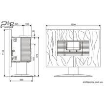 Чавунна піч INVICTA GAYA ARDOISE антрацит - 12 кВт