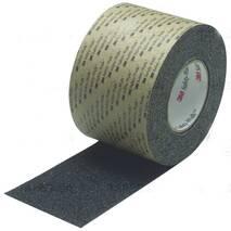 Протиковзкі покриття (стрічка) 3m™.  Safety - Walk™ Avial Протиковзка стрічка 3m Safety - Walk  710 груба зернистість, чорна, 25 мм.