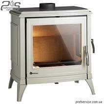 Чавунна піч INVICTA SEDAN 15 кремова емаль - 12 кВт