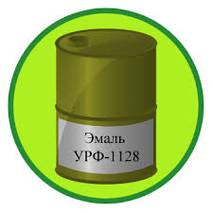 Грунт-емаль алкід-уретанова УРФ-1128 чорна, 50 кг