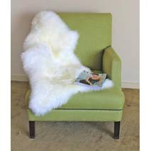 Овечья шкура - овечьи шкуры - шкура овцы (белого цвета)