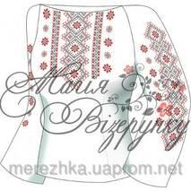 Заготовка сорочки для вышивки бисером Н-020